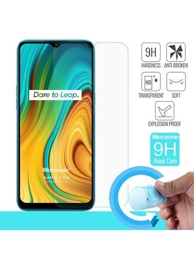 Microsonic Realme C3 Nano Cam Ekran Koruyucu Renksiz